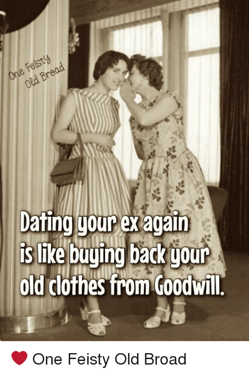 Dating your ex again