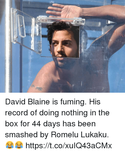 david blaine is fuming his record of doing nothing in 29564912 ✅ 25 best memes about blaine blaine memes