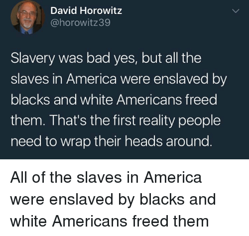 why slavery is bad