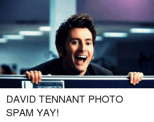 David Tennant Photo Spam Yay Meme On Me Me Check out our larry david meme selection for the very best in unique or custom, handmade pieces did you scroll all this way to get facts about larry david meme? meme