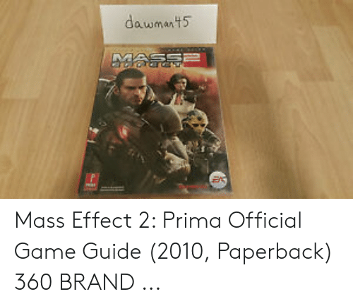 Prima Official Game Guide Mass Effect 2