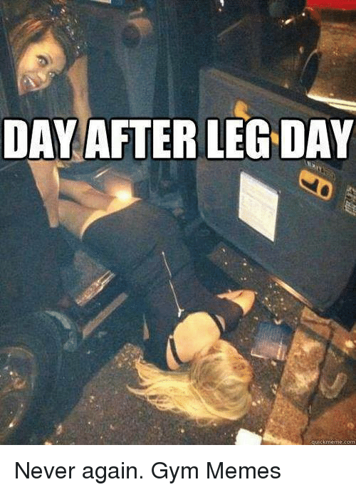 Gym Memes Leg Day | www.pixshark.com - Images Galleries ...