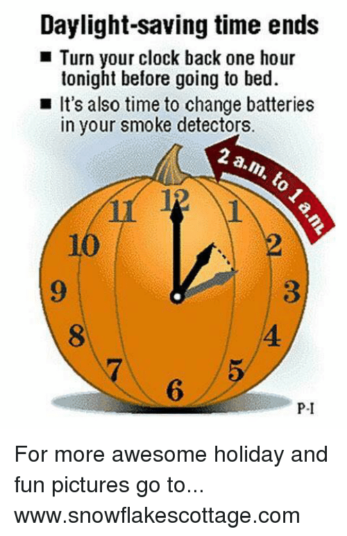 daylight saving time ends turn your clock back one hour 6002428 daylight saving time ends turn your clock back one hour tonight