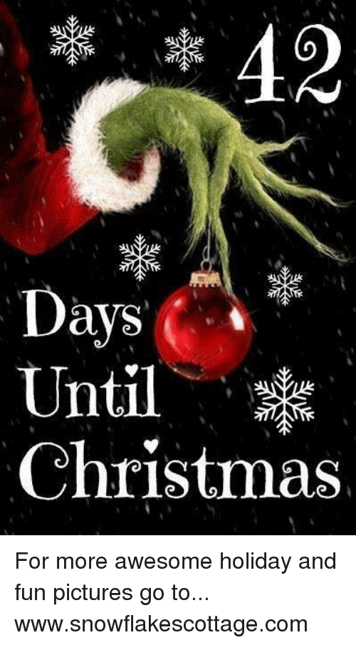 How Many More Days Til Christmas.Days I Until Christmas For More Awesome Holiday And Fun