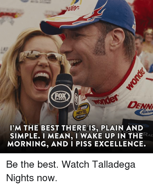 Talledega piss excellence