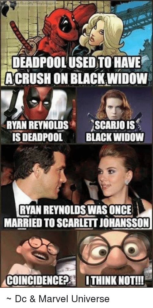 Deadpool Black Widow