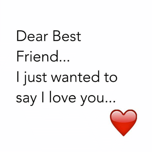 Loving a best friend