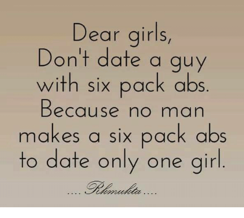 Dating only one guy
