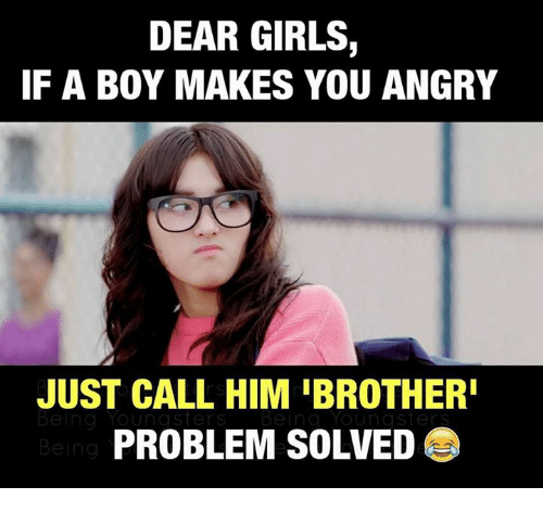 Funny Meme Girl With Glasses : Best memes about problem solved