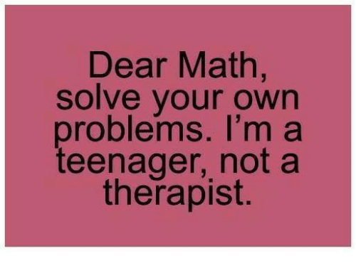 how to solve teenage problems