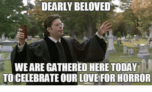 Dearly Beloved Weare Gatheredihere Today To Celebrate Our Love For