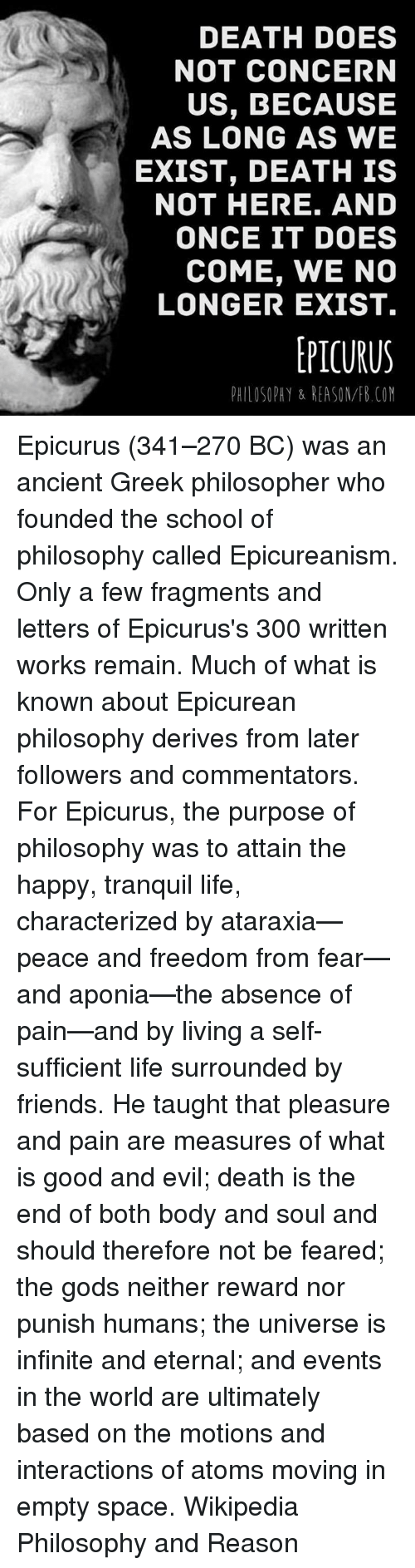 the views and philosophies of epicurus on living the good life Epicurus and the pleasant life:  epicurus and the pleasant life: living by the philosophy of  i love how haris dimiriadis compares epicurus' views with many .