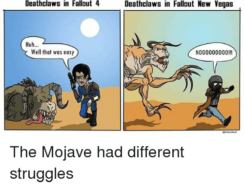 deathclaws in fallaut 4 deathclaws in fallut new vegas huh 24940250 ✅ 25 best memes about well that was easy well that was easy memes