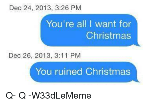 ✅ 25+ Best Memes About All I Want for Christmas | All I Want for ...