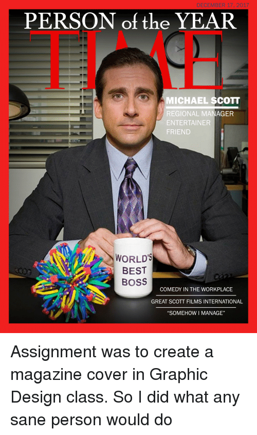 michael scott cover photo