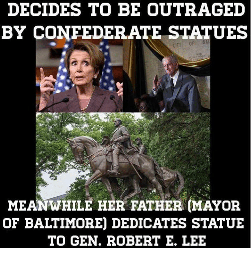 decides to be outraged by confederate statues meanwhile her father 27305757 ✅ 25 best memes about robert e lee day robert e lee day memes