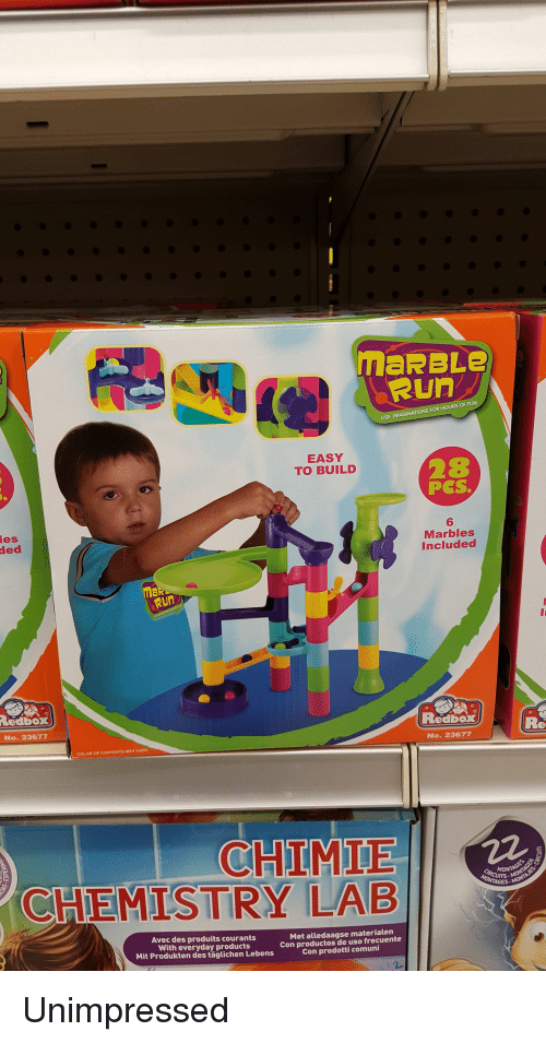 Funny, Redbox, and Run: ded maRBLe Run USE IMAGINATIONS FOR HOURS OF FUN