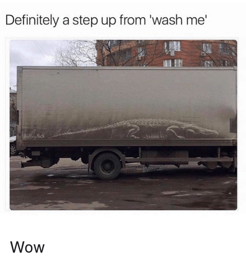 "Definitely, Memes, and Wow: Definitely a step up from ""wash me Wow"
