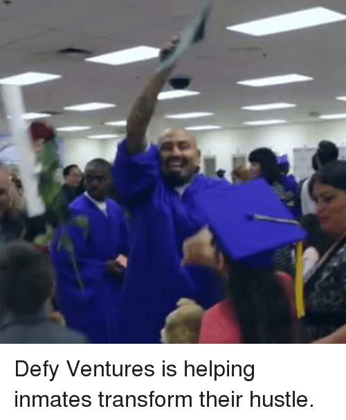 Memes, 🤖, and Venture: Defy Ventures is helping inmates transform their hustle.
