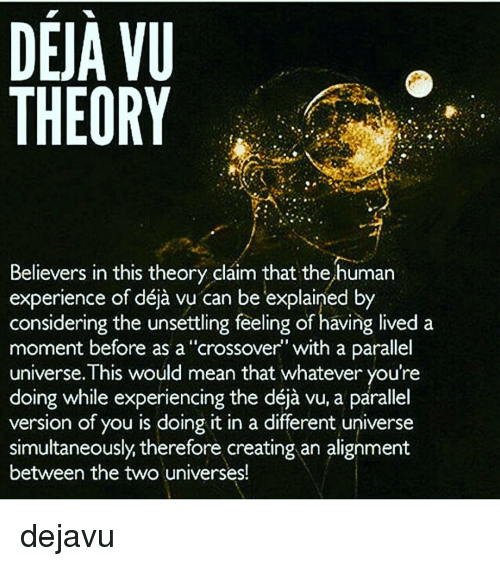 Image result for deja vu explained