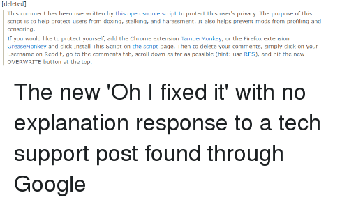 Deleted This Comment Has Been Overwritten B This Open Source