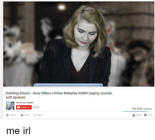Hillary Clinton Sexy And Irl Deleting Emails Sexy Hillary Clinton Roleplay Asmr