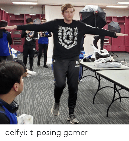 Tumblr, Blog, and Http: delfyi:  t-posing gamer