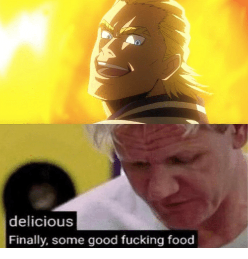 Food, Fucking, and Good: delicious  Finally, some good fucking food