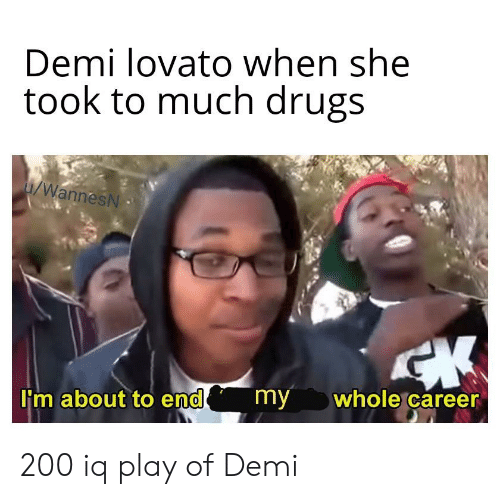 7f4ccd41f7e52 Demi Lovato When She Took to Much Drugs iWannesN  M About to End my ...