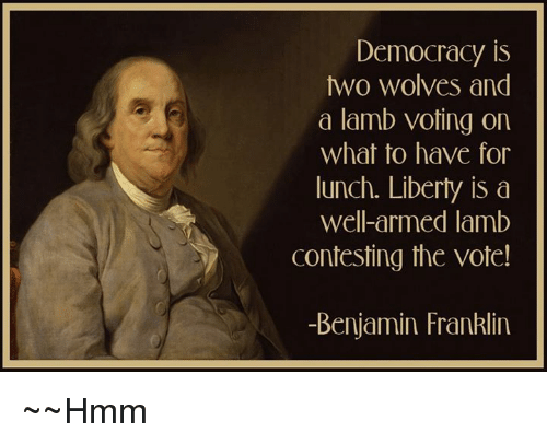 Image result for democracy sheep two wolves