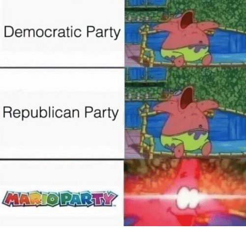 Party, Democratic Party, and Republican Party: Democratic Party  Republican Party  MAR