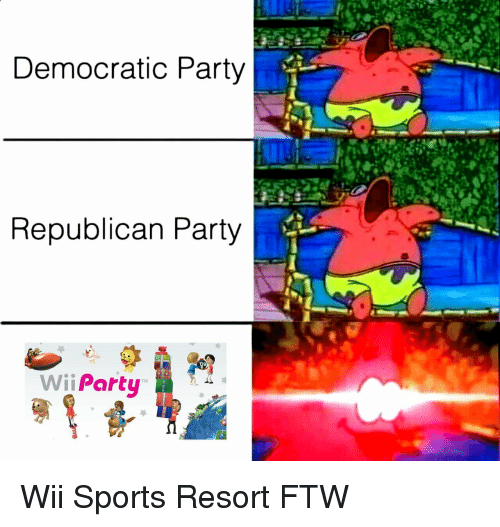 Democratic Party Republican Party Wii Party Wii Sports