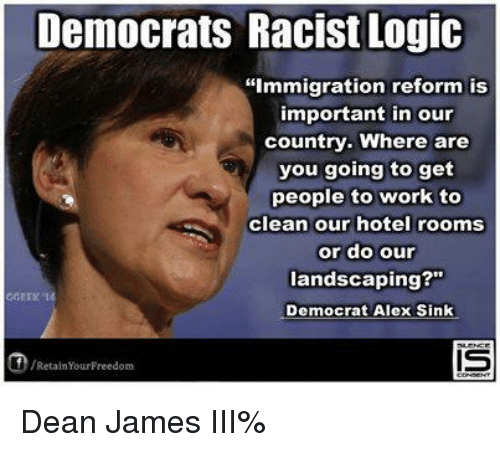 Latest On Immigration Reform News: Democrats Racist Logic Immigration Reform Is Important In