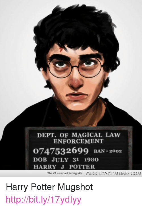 Dept Of Magical Law Enforcement 0747532699 Ban 2002 Dob July 31 1980 Harry J Potter The 2 Most Addicting Site Mugglenet Memescom P Harry Potter Mugshot A Href Httpbitly17ydiyy Httpbitly17ydiyy A P Harry Potter Meme On Josh potter is on mixcloud. meme