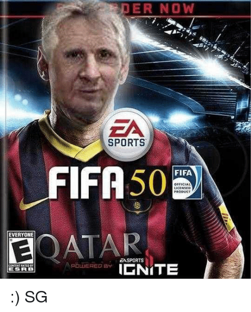 DER NOW EA SPORTS FIFA 50 LICENSED PRODUKT FIFA EVERYONE ...