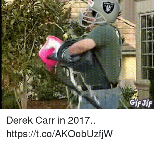Football, Nfl, and Sports: Derek Carr in 2017.. https://t.co/AKOobUzfjW