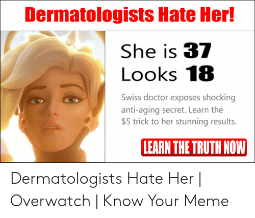 Dermatologists Hate Her! She Is 37 Looks 18 Swiss Doctor