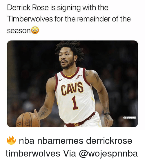 b749a808a Derrick Rose Is Signing With the Timberwolves for the Remainder of ...