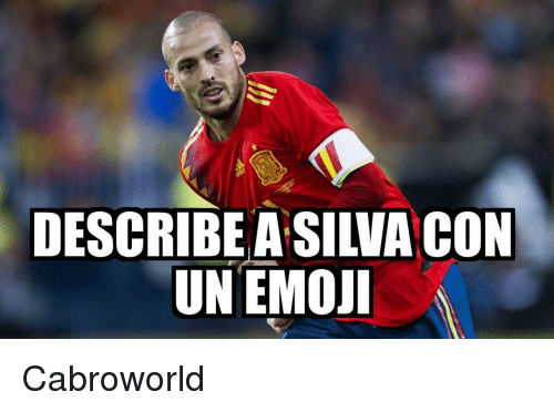 Emoji, Silva, and Con: DESCRIBE A SILVA CON  UN EMOJİ Cabroworld