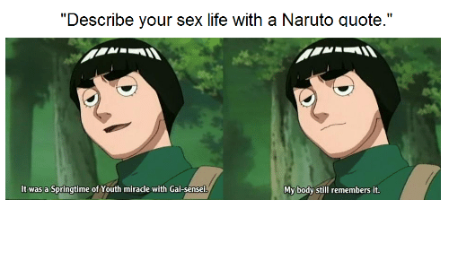 What S Your Favorite Quote From Naruto Naruto