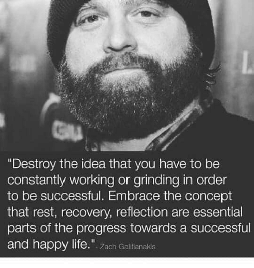 Destroy The Idea That You Have To Be Constantly Working Or Grinding