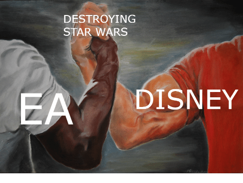 Disney, Star Wars, and Star: DESTROYING  STAR WARS  DISNEY