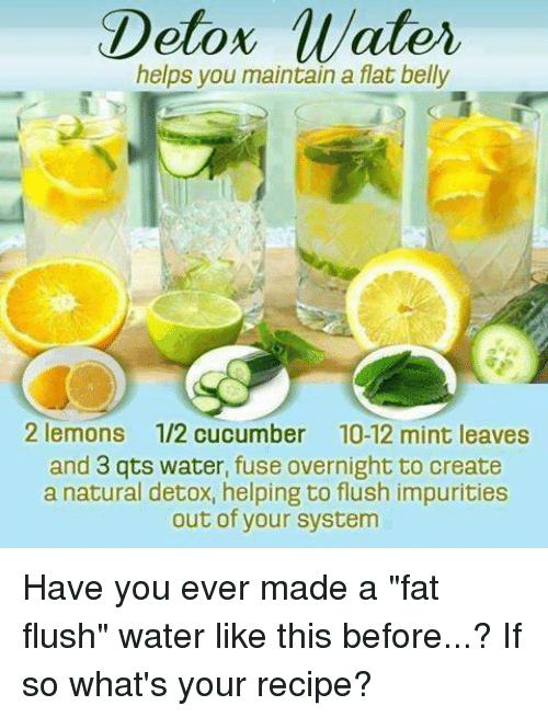 Detox Water Helps You Maintain A Flat Belly 2 Lemons 12