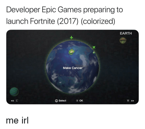 fed4f1d3e Cancer, Earth, and Games: Developer Epic Games preparing to launch Fortnite  (2017