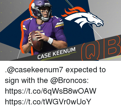 Memes, Broncos, and 🤖: DGs  CASE KEENUM  2 .@casekeenum7 expected to sign with the @Broncos: https://t.co/6qWsB8wOAW https://t.co/tWGVr0wUoY