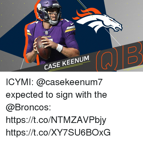 Memes, Broncos, and 🤖: DGs  CASE KEENUM  2 ICYMI: @casekeenum7 expected to sign with the @Broncos: https://t.co/NTMZAVPbjy https://t.co/XY7SU6BOxG