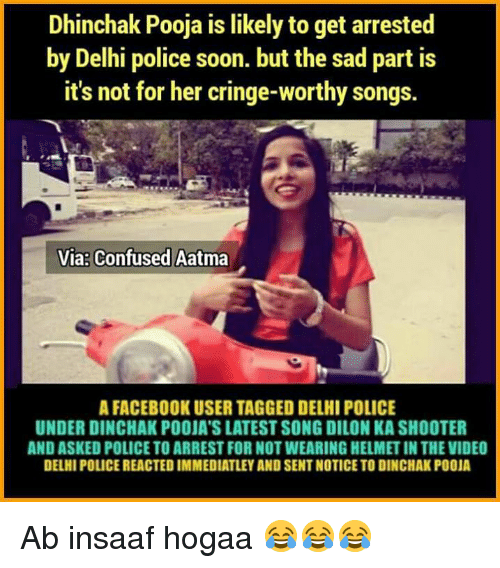 Dhinchak Pooja Is Likely to Get Arrested by Delhi Police Soon but