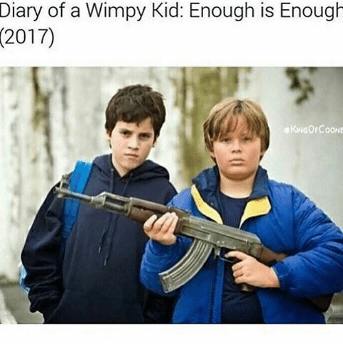 Diary Of A Wimpy Kid Enough Is Enough Meme