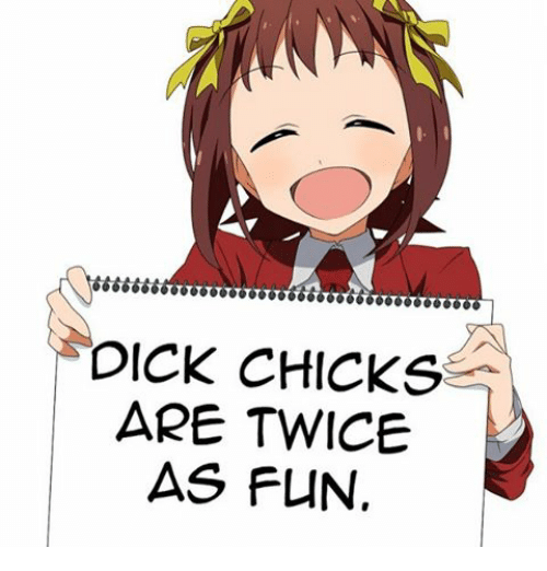 Chicks with dicks clip