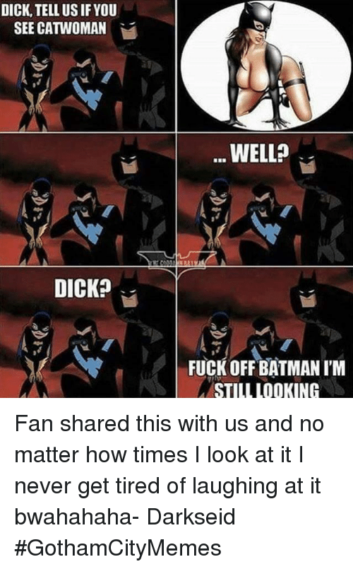 Really surprises. batman fucking catwoman